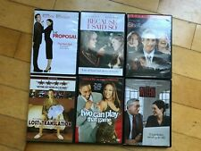 New listing Lot of 6 Dvd Comedy Movies Lost in Translation Intern Shall We Dance 00004000