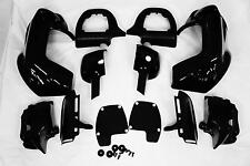 Lower Vented Fairing & CNC Quick Release Mounting Kit for Harley Touring FLH FLT