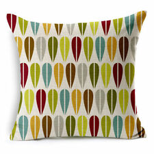 Linen Blend Geometric Art Deco Decorative Cushions & Pillows