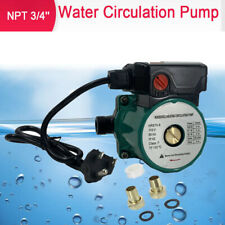 3 Speed Hot Water Recirculating Pump For Water Heater System Circulation 34