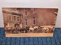 Vintage OIL CITY Fire Department Pennsylvania Pa Postcard Horse & Wagon c. 1909