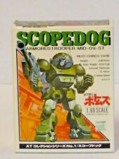 SCOPEDOG 1/60 SCALE DIECAST VOTOMS ARMORED TROOPERS TAKARA