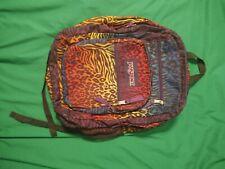Jansport Backpack Rainbow Leopard Zebra Print Book Bag Lisa Frank Style Tilly's