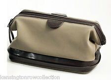 MENS GIFTS - CAMBRIDGE DOPP KIT W / 6-PC  MANICURE & GROOMING SET - ULTRA SUEDE
