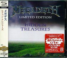 MEGADETH HIDDEN TREASURES 2016 JPN SHM HIGH FIDELITY CD - NEW & GIFT PERFECT!