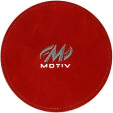 Motiv Leather Shammy Pad Removes Oil From Bowling Balls Color Red