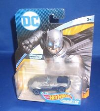 DC UNIVERSE MARVEL COLLECTOR HOT WHEELS ARMORED BATMAN CHARACTER CARS, NEW