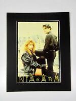 alter Musik Reklame Druck hinter Passepartouts Pop Band Niagara 50x40 cm 566