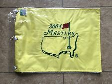 2004 MASTERS FLAG Golf Pin Flag PGA Official Embroidered