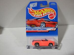 Hot Wheels 1998 First Editions 3 of 45 Dodge Sidewinder #634 051021DMT