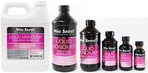 Mia Secret Liquid Monomer 1oz / 2oz / 4oz / 8oz / 16 oz /32 oz -PICK YOUR SIZE