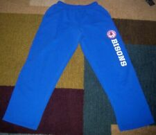 Authentic BUFFALO BISONS Blue MOISTURE-WICKING Training/SWEAT Pants S jersey l