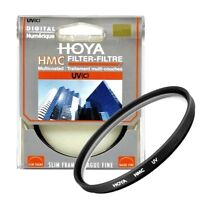 Genuine Hoya 62mm HMC UV Lens Filter. Multi-Coated Glass. Made in Japan.
