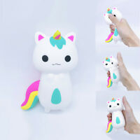Adorable Rainbow Fox Scented Charm Slow Rising Squeeze Stress Reliever Toy Gift