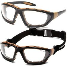 Carhartt Safety Glasses Carthage Clear Anti-Fog Lens T22005