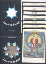 L.Pignatti, La carta del cielo + 7 cartoline tratto dal De Sphaera,astrologia  R