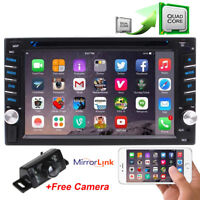 "GPS Navi 4G WiFi Double 2Din 6.2"" Smart Android Car Stereo DVD Radio Bluetooth"