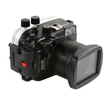 40M PRO Waterproof Underwater Camera Housing Case for Canon EOS M3 &18-55mm Lens