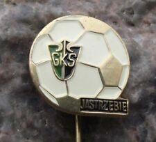 Antique GKS Jastrzebie Poland Polish Soccer Football Club Pin Badge