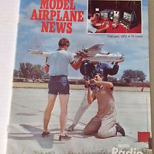 Model Airplane News Magazine Waco PG-2 Power Glider February 1972 071917nonrh