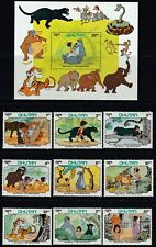 Bhutan - 340-348 - Disney - Jungle  Book - 9 stamps & 2 S.sheets  - 1982 - B9769
