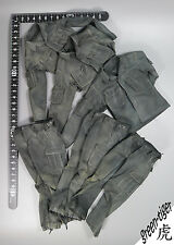 "A504 1:6 Scale ace 13005 MAC V SOG ""BlackJack"" - Black Dyed Jacket & Trousers x3"