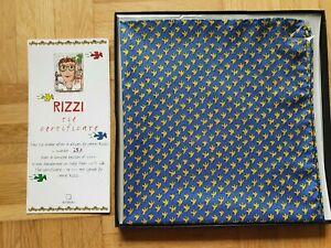 James Rizzi Scarf Schal Limitiert Seidenschal Halstuch Silk nicht 3D Kunst Neu