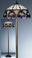 STUNNING-SPRING WEEDS TIFFANY STYLE HAND CRAFTED FLOOR LAMP-IDEAL CHRISTMAS GIFT