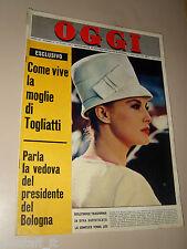 OGGI=1964/25=VIRNA LISI=AVEZZANO=RITA MONTAGNANA=PETRA KRAUSE=MADONE=LIZ TAYLOR