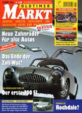 OLDTIMER MARKT 5/2002 - 300 SL - Triumph - Rometsch - Peugeot 504 Coupé - 280 SE