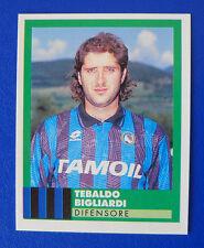 FIGURINA VALLARDI E' IL CALCIO 92/93 - N.25 - BIGLIARDI - ATALANTA - new