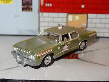 BOND LOUISIANA SHERIFF JW PEPPERS 1974 DODGE MONACO 1/64 SCALE DIECAST DIORAMA N