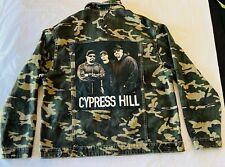 CYPRESS HILL Army Camo 91 Cotton On Denim Jacket Mens Size XXL Back Logo