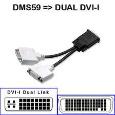 Cable adaptateur DMS59 59PIN pour carte graphique dual display vers dual DVI