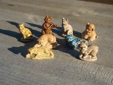 Wades Whimsies Cat Cat & Fiddle Leopard Tiger