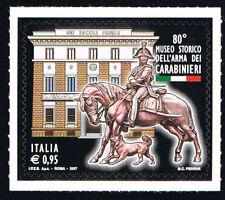 ITALIA 1 FRANCOBOLLO MUSEO STORICO DELL'ARMA DEI CARABINIERI 2017 nuovo**