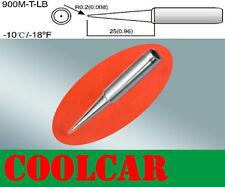 SOLDERING IRON STATION Tips BG-900M-T-LB Rework Lead Free Long Fine tip OZ