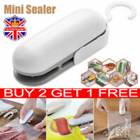 Portable Mini Heat Sealing Machine Food Sealer Capper Packing Plastic Bag Tool