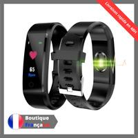 Bracelet Connecte Sport Montre Connectee Tracker d'activite Podometre Cardio