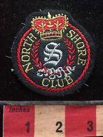 Vintage North Shore Club Patch 73X8