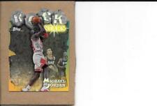 "Michael Jordan 1997/98 Topps ""Rock Stars"" REFRACTOR, card #RS1"