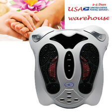 Electromagnetic Massager Blood Booster Circulation Foot Massager Home Machine US
