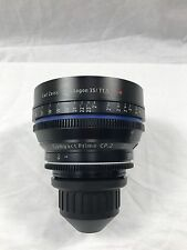 Carl Zeiss CP.2 35mm T/1.5 PL Cinema Compact Prime Lens  with Custom Carry Case