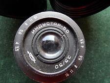 INDUSTAR 50 F/3.5 50mm m39 LTM LEICA MOUNT RF lens Helios