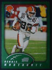 NFL 136 Dennis Northcutt Cleveland Browns Topps 2002
