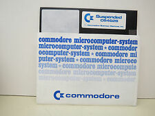 SUSPENDED    DISK ONLY COMMODORE 64/128 Tested Runs  NEW FACTORY SURPLUS ....#4