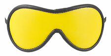 """Blindfold Shades of Yellow Genuine Leather """"NEW"""""""