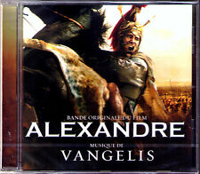 Alexander Bande sonore CD VANGELIS Oliver Stone ALEXANDRE THE GREAT OST Sony NEUF