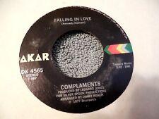 Complaments Falling In Love 45 Chickens Dakar 4565 Soul Disco Funk VG++