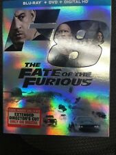 The Fate of the Furious (Blu-ray, DVD & Digital HD - 2017) NEW & sealed